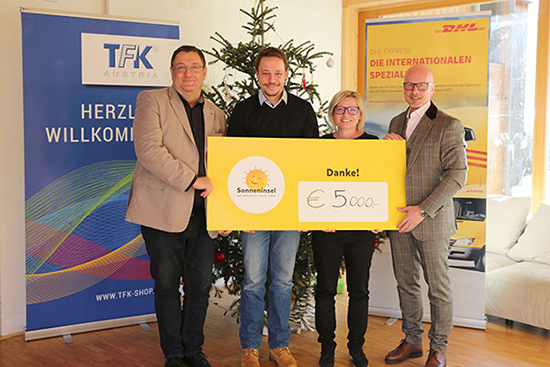 TFK Charity Sonneninsel. 1 Homepage